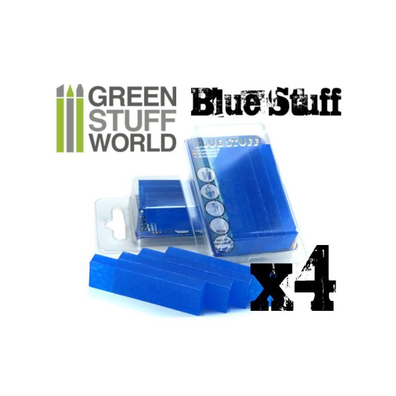 Blue Stuff Mold 4 Bars