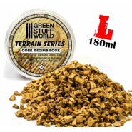 Medium Rock Basing Grit - 180 ml - L