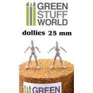 Flexible Armatures in 25 mm