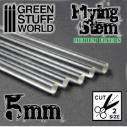Acrylic Rods - Round 5 mm CLEAR