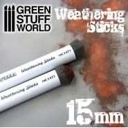 Weathering Brushes 15mm