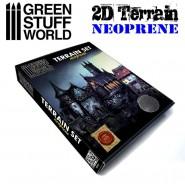 2D Terrain set - 22 pieces
