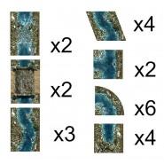 Lava River - Neoprene Terrain Set
