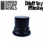 Round Display Plinth 4.5 cm - Black