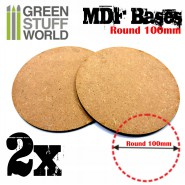 MDF Bases - Round 100mm
