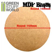 MDF Bases - Round 160mm