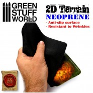 2D Neoprene Terrain - Forest with 6 trees