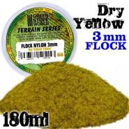 Static Grass Flock 3 mm - Dry Yellow