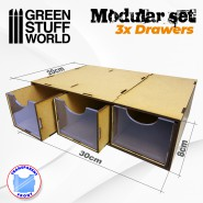 Modular Set 3x Drawers