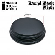 Round Top Display Plinth 8cm
