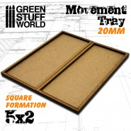 MDF Movement Trays 20mm 5x2