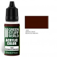 Acrylic Color REDWOOD BROWN