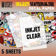 Waterslide Decals - Inkjet...