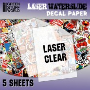 Waterslide Decals - Laser...