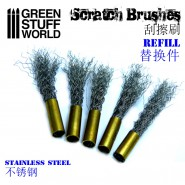 Scratch Brush Set Refill – Stainless Steel