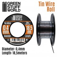 Flexible tin wire roll 0.4mm