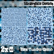 Waterslide Decals - Hex...