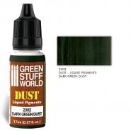 液态颜料 深绿色粉尘
