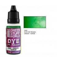 Dye for Resins GREEN