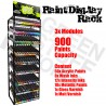GSW Paint Display Rack - Artistic, Wash, Intensity, Metal and Varnish