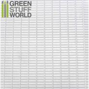 ABS Plasticard - MEDIUM RECTANGLES Textured Sheet - A4