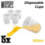 5x Disposable Measuring...