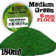 Static Grass Flock 6 mm -...