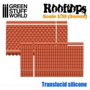 硅胶模具 - 屋顶 1/35 (54mm)