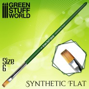 GREEN SERIES Flat Synthetic...