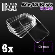 Acrylic Bases - Square...