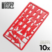 Charge and Retreat Arrows - Red
