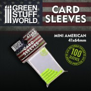 Card Sleeves - Mini American 41x64mm