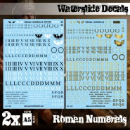 Waterslide Decals - Roman...
