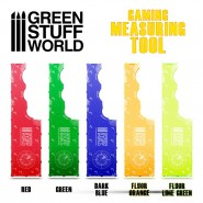 Gaming Measuring Tool - Fluor Lime Green