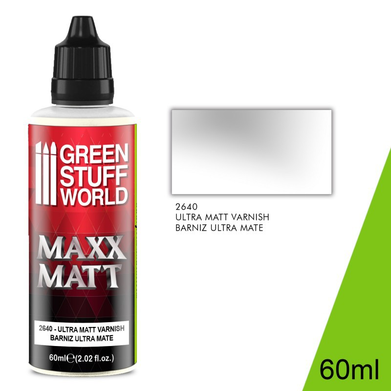 Maxx Matt Varnish 60ml - Ultramate
