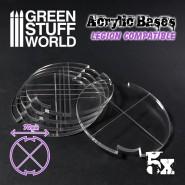 Acrylic Bases - Round 70 mm (Legion)