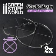 Acrylic Bases - Round 100 mm (Legion)