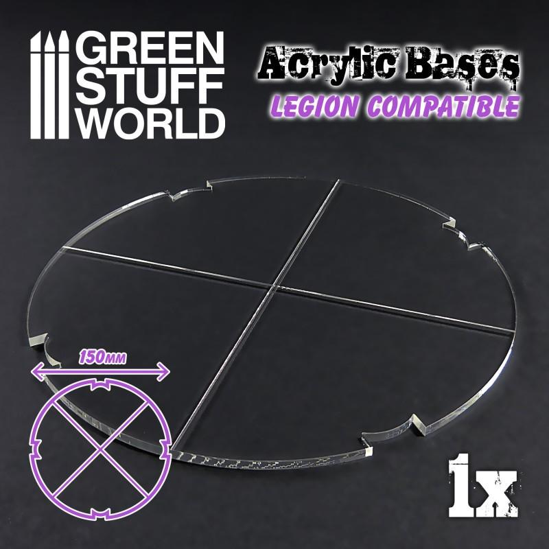Acrylic Bases - Round 150 mm (Legion)