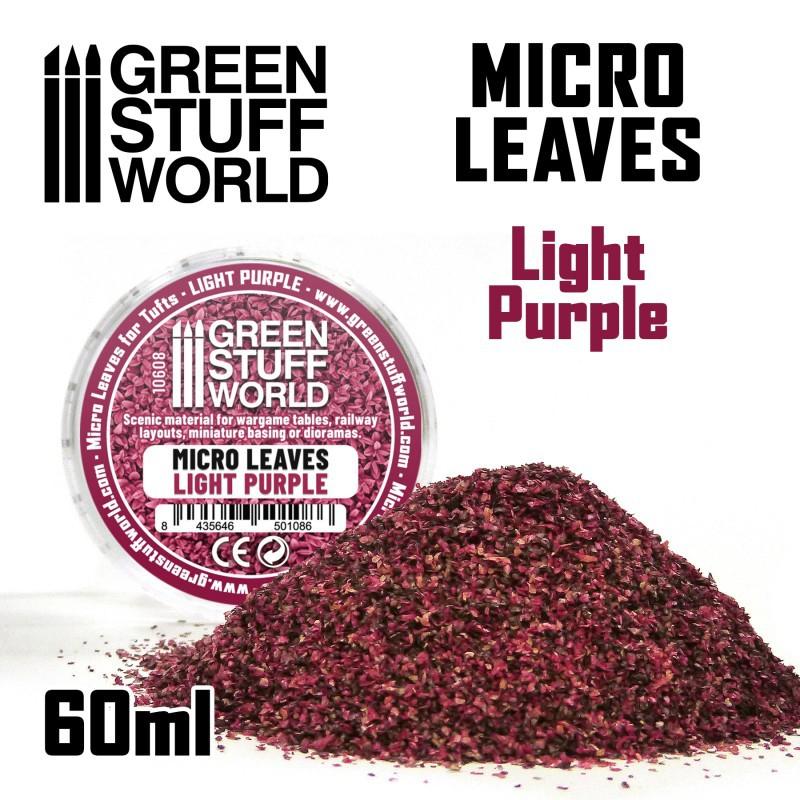 Micro Leaves - Light Purple Mix