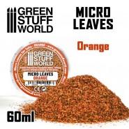 Micro Leaves - Orange mix