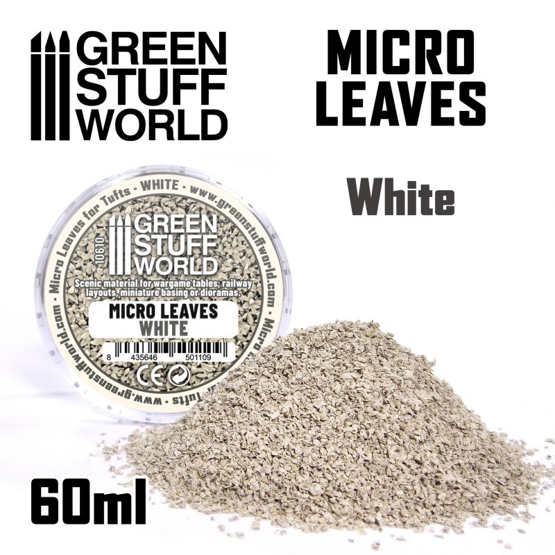 Micro Leaves - White mix