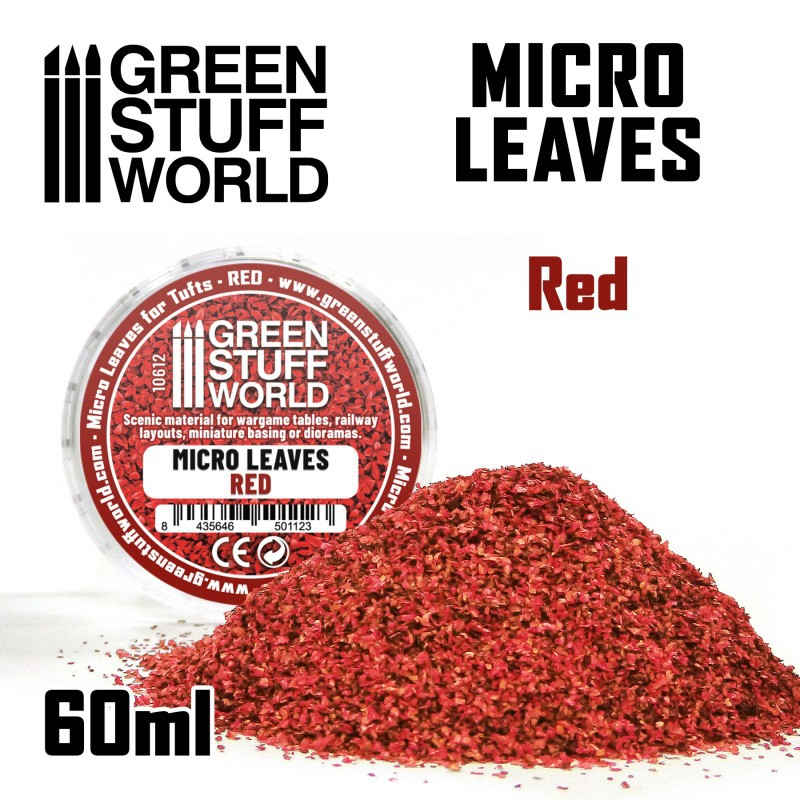 Micro Leaves - Red mix