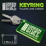GSW logo Keyring - Green