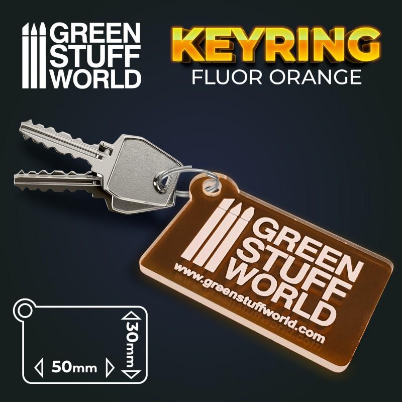 GSW logo Keyring - Orange