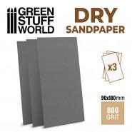 SandPaper180x90mm - DRY 800 grit