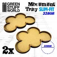 MDF Movement Trays 32mm x 5 - SLIM-FIT