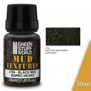 Mud Textures - BLACK MUD 30ml