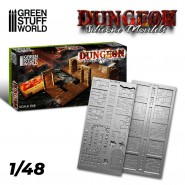 Dungeon Silicone mould