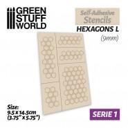 Self-adhesive stencils -...