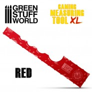 Gaming Measuring Tool - Red 12 inches